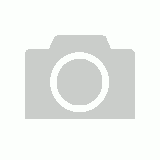 White Circle Polyresin Pot