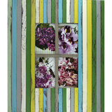 Vintage Strip Green 4 Multi Photo Frame