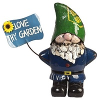 EEIEEIO Larry the Gnome Outdoor Garden Sculpture