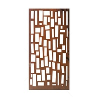 Natural Rust Wall Art - Hanging Bricks