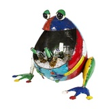 EEIEEIO Freddy Frog Beverage Tub Outdoor Sculpture