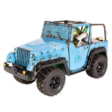 EEIEEIO 4x4 Jeep Recycled Beverage Tub Blue