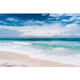 Ocean Blue Canvas Wall Art Print