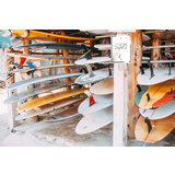 Surfboards for Rent Canvas Wall Art Print