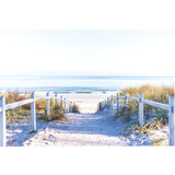 Beach Walk Canvas Print Wall Art