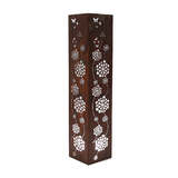 Mild Steel Outdoor Tower Light - Flower Small