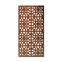 Natural Rust Partition/Wall Art - Moorish Thick