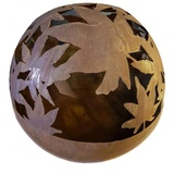 Contemporary Maple Ball Garden Sculpture
