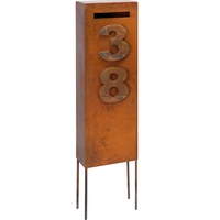 Ned Kelly Steel Outdoor Letterbox