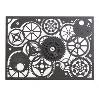 Outdoor Laser Cut Wall Art - Clockwork