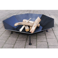 Outdoor Fireplace Pit Bowl Octagonal