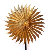 Golden Sword Wind Spinner Garden Ornaments Set 2