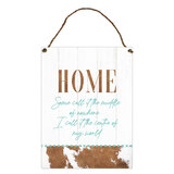 Country Home Decorative Tin Wall Sign
