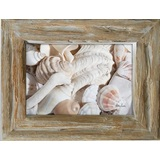 Wanderlust Coral Natural Timber Photo Frame