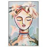 Abstract Composure Canvas Oil Painting