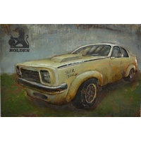 3D Steel Wall Art Painting Holden SLR 5000
