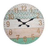 Beach Pattern Wall Clock