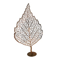 Leaf Sculpture 3 Outdoor Metal Art