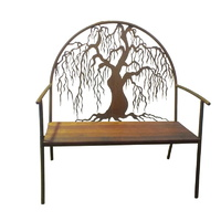 Willow Outdoor Garden Bench Seat