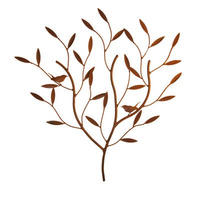 Wren Tree Steel Garden Wall Art