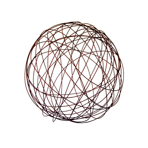 Wire Ball Outdoor Garden Sculpture